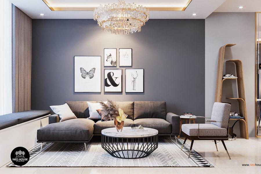 Thiết kế nội thất căn hộ La casa tại quận 7 của chị Hương thumbnail